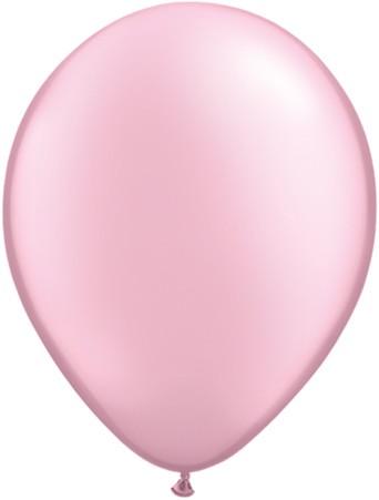 "Qualatex Pearl Pink (Rosa) 12,5cm 5"" Latex Luftballons"