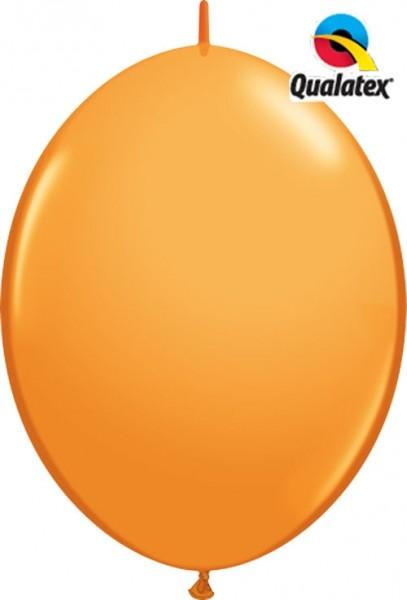 "QuickLink Standard Orange 30cm 12"" Latex Luftballons Qualatex"