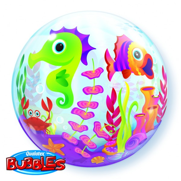 Qualatex Bubbles Luftballons 'Fun Sea Creatures' Urlaub
