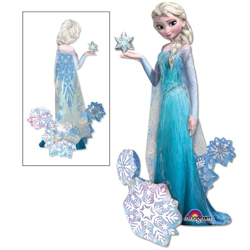 Airwalker Ballon Frozen Elsa The Snow Queen