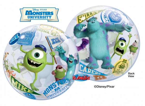 "Qualatex Bubble Monsters University ""22 56cm Luftballon"