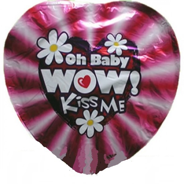 Oh Baby Wow - Kiss me! Herz - 45cm