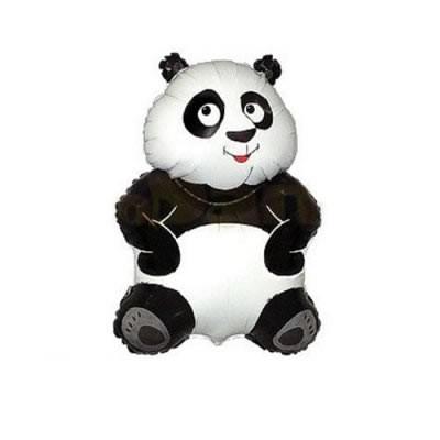 Mini Folienballon Panda Bär - 33cm