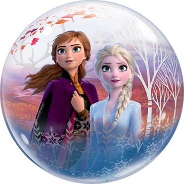"Qualatex Bubble Frozen 2 Disney 22"" 56cm Luftballon"