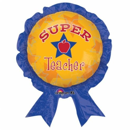 Super Teacher Folienballon - 76cm