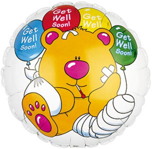 Gute Besserung Folienballon - 45cm