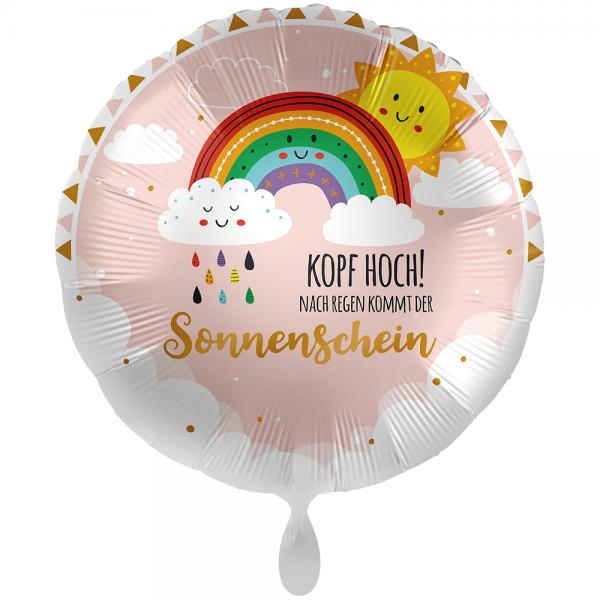 Kopf Hoch Sonnenschein Folienballon - 71cm 28''