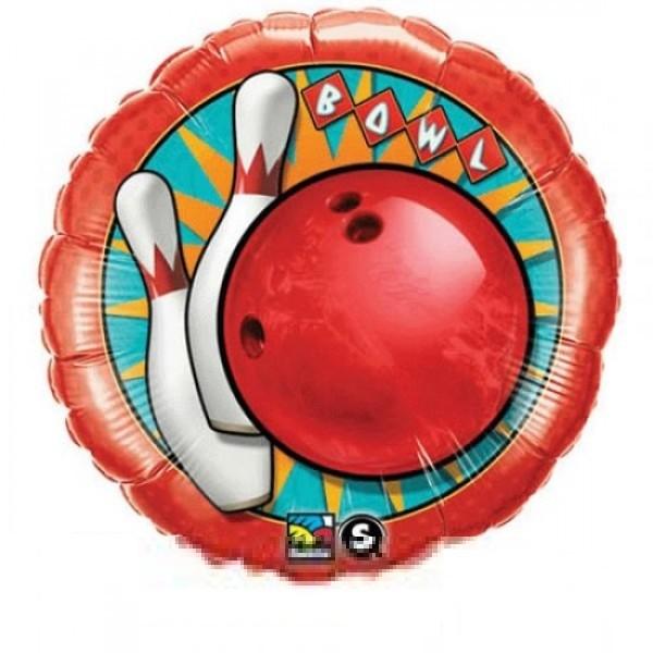 Bowling Folienballon - 45cm