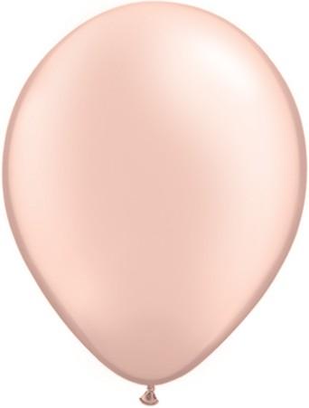 """Qualatex Pearl Peach 12,5cm 5"""" Luftballon"""