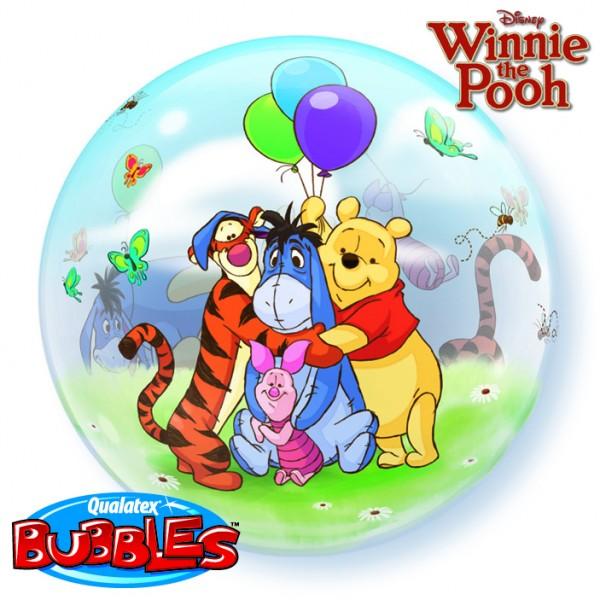 """Qualatex Deco Bubble Winnie the Pooh 22"""" 56cm Luftballon"""