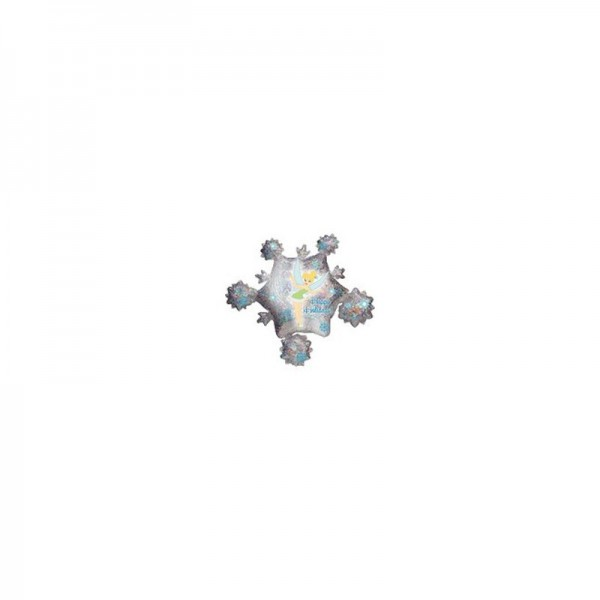 Prismatic Happy Holidays Tinkerbell Folienballon - 81 cm