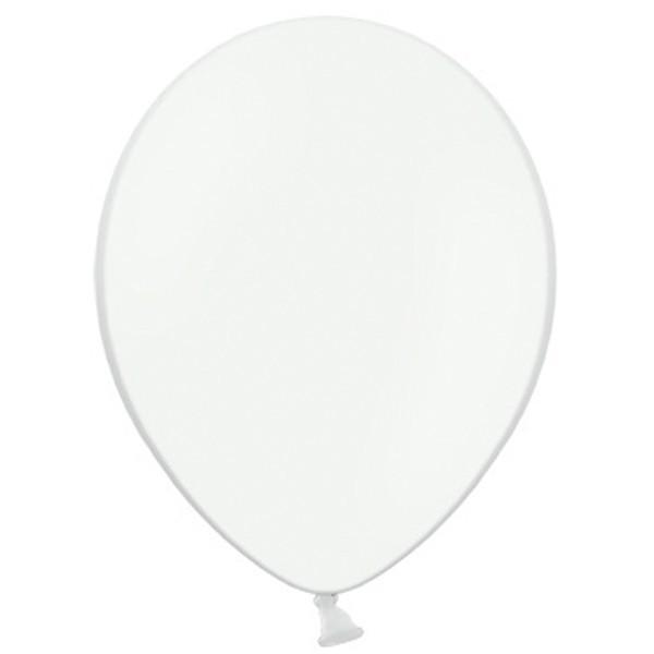 "Belbal 002 Pastel White Weiß 27,5cm 11"" Latex Luftballons"