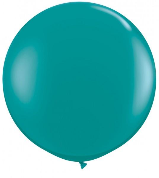 "Qualatex Jewel Teal (Blaugrün) 90cm 36"" Latex Riesenluftballons"