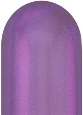 Qualatex 260Q Chrome Purple (Lila) Modellierballons