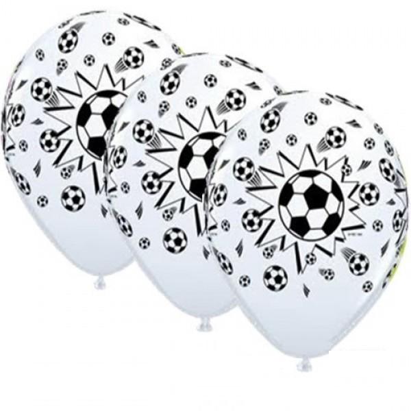 "Fußball Sport 27,5cm 11"" Latex Luftballons Qualatex"