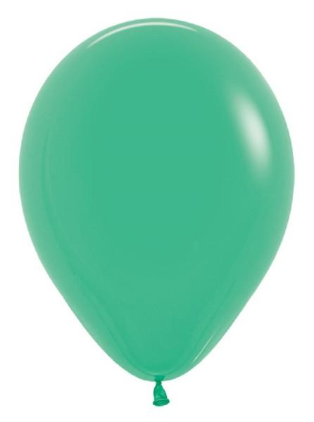 "Sempertex 030 Fashion Green (Grün) 30cm 12"" Latex Luftballons"