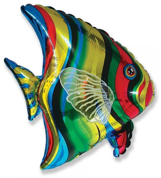 Tropical Fish Folienballon 25in/63,5cm