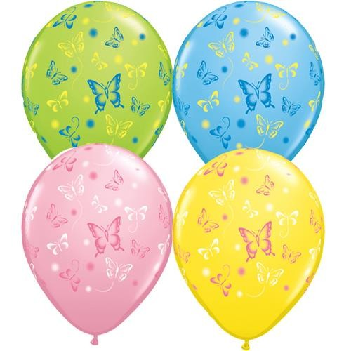 Schmetterling Latex Ballons - 27,5cm