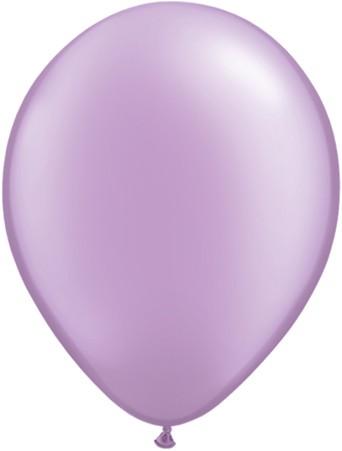 Latex Luftballons Pearl Lavender (Lavendel) 10St. - 27,5 cm