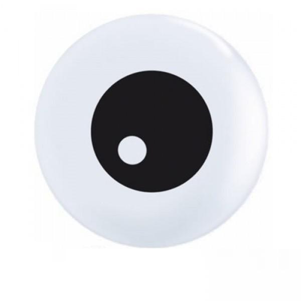 "Friendly Eyeballs (Auge) 12,5cm 5"" Latex Luftballons Qualatex"