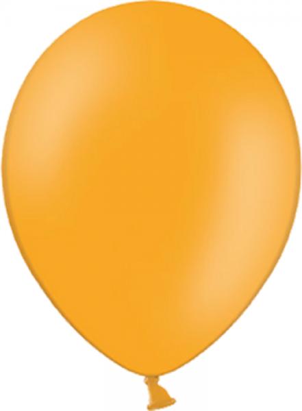 "Belbal Pastel Orange 007 100 St. 27,5cm 11"" Latex Luftballons"