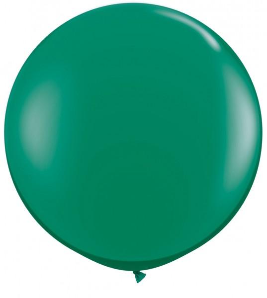 "Riesenluftballon Jewel Emerald Green (Smaragdgrün) 90cm 36"""