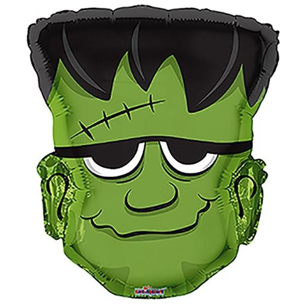 Frankenstein Kopf Halloween Folienballon