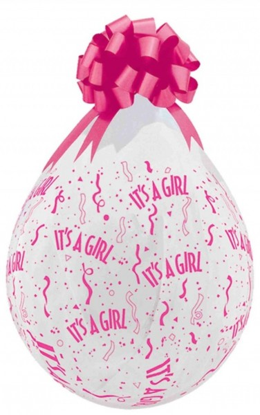 "Verpackungsballons It`s A Girl 45cm 18"" Qualatex Stuffer"