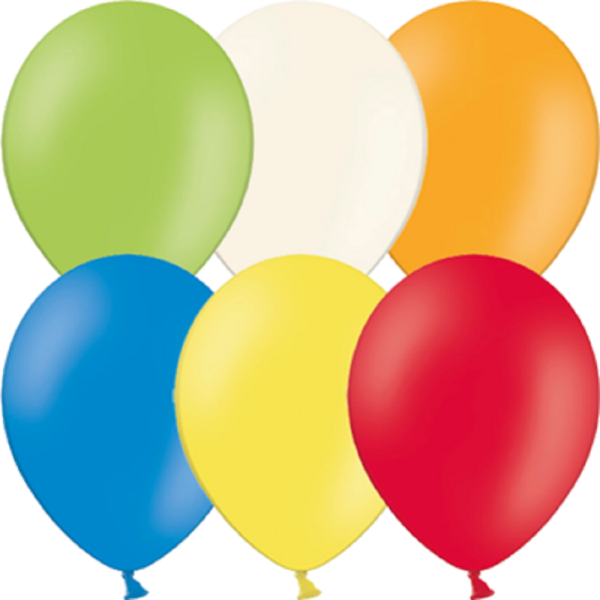 "Belbal 300 Pastel Assortment Sortiment 12,5cm 5"" Latex Luftballons"
