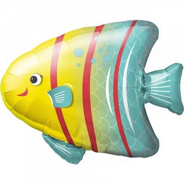 Folienballon Angler- Fisch