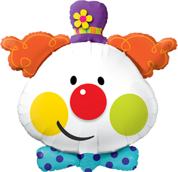 Cute Clown Folienballon - 91cm 36''
