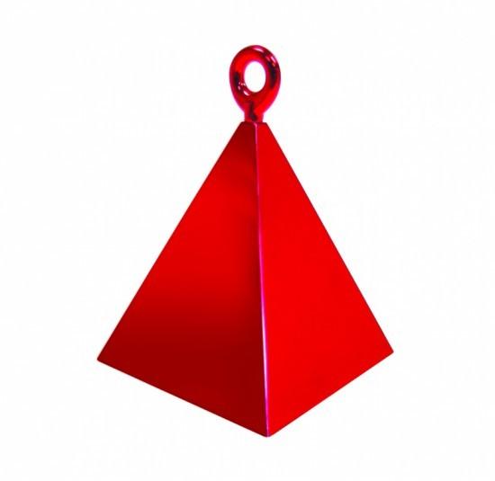 Rot Pyramiden Luftballon Gewicht