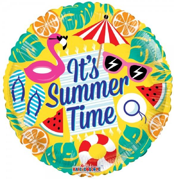 It´s Summer Time Folienballon 43cm 17''