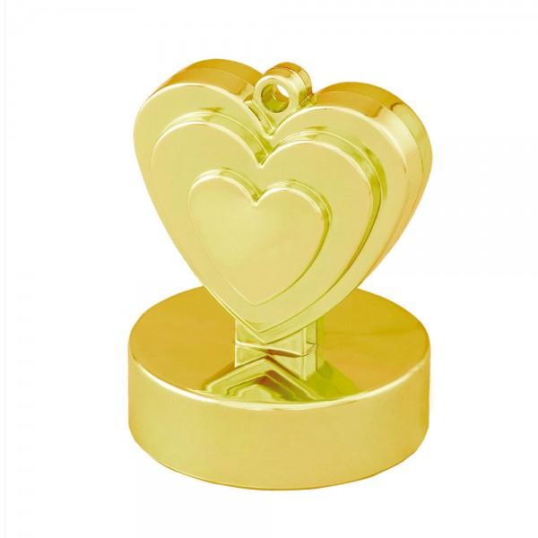 Gold Herz Luftballon Gewicht