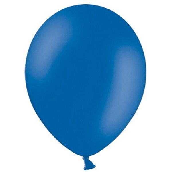 "Belbal Pastel Royal Blue 022 (Blau) 100 St. 27,5cm 11"" Latex Luftballons"