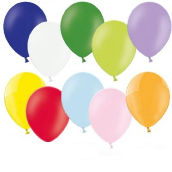 "Bunte Latex Luftballons gemischt 27,5cm 11"""