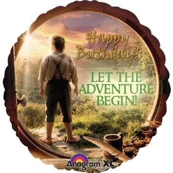 Happy Birthday The Hobbit Folienballon
