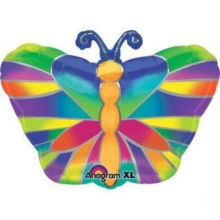 Tropischer Schmetterling Folienballon - 46cm