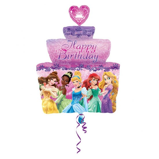Happy Birthday Prinzessin Kuchen/ Disney Torte