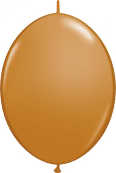 "QuickLink Fashion Mocha Brown (Braun) 30cm 12"" Latex Luftballons Qualatex"