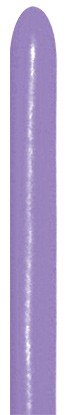 Sempertex Lilac 050 260S Nozzle up Modellierballons