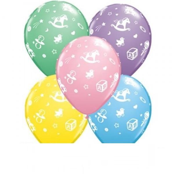 Pastel Baby's Nursery Luftballon - 27,5cm