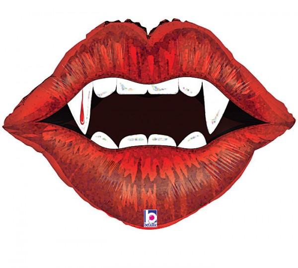 Vampir Lippen Folienballon
