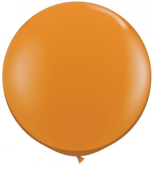 "Qualatex Jewel Mandarin Orange 90cm 36"" Latex Riesenluftballons"
