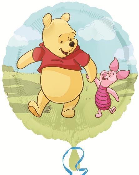 Winnie Pooh und Ferkelchen Folienballon