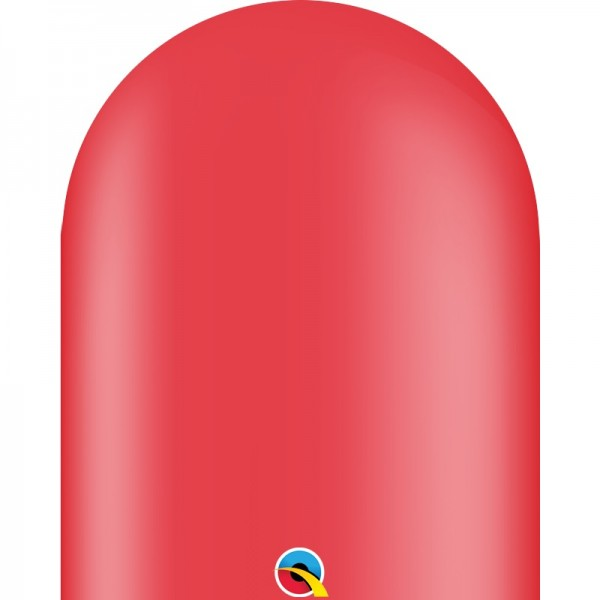 Qualatex 646Q Red (rot) Modellierballons