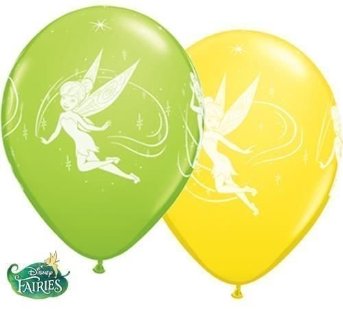 "Tinker Bell Elfe 27,5cm 11"" Latex Luftballons Qualatex"