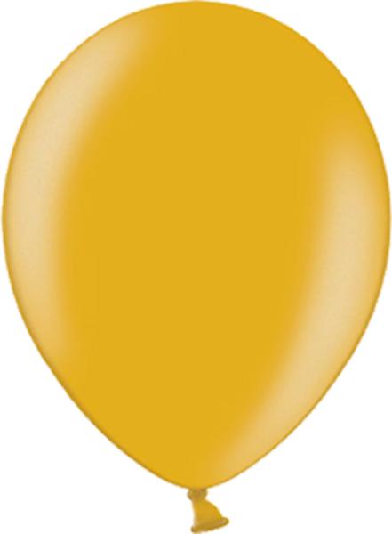 "Belbal 060 Metallic Gold 12,5cm 5"" Latex Luftballons"