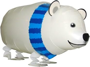 """Polarbär Airwalker Ballon - 71cm 28"""""""