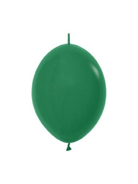 """Link o Loon 032 Fashion Forest Green (Grün) 15cm 6"""" Latex Luftballons Sempertex"""